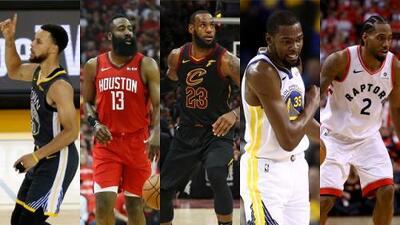 De acuerdo con la NBA, este es el equipo ideal de la década de 2010
