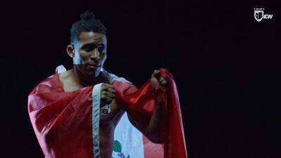 Marlon 'Deriko 7' Gonzales, el peruano que quiere conquistar Copa Combate