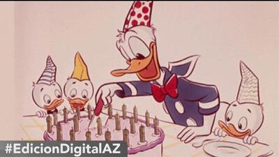 Hoy es día de: el Pato Donald
