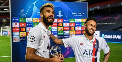 Neymar le quita el premio de MVP a Choupo-Moting después de 'regalárselo'