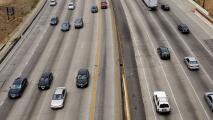 Normalidad en la circulación por la 405: así fluye el tráfico en Los Ángeles la mañana de este lunes