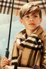 Romeo, el modelo de la familia Beckham
