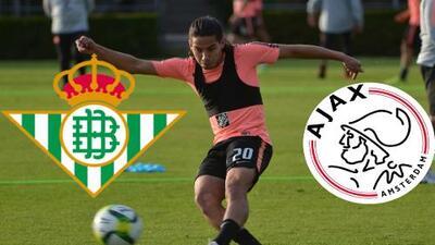 Análisis ¿Ajax o Betis? ¿Qué contexto es mejor para Diego Lainez?