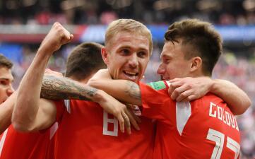 En fotos: Rusia debutó como anfitrión con goleada contra Arabia Saudita en el Mundial