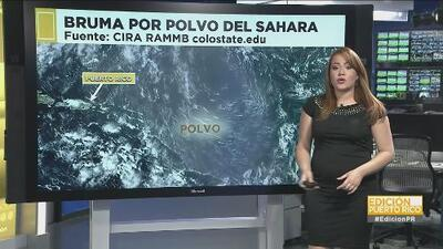Puerto Rico recibe la llegada de polvo del Sahara y aire muy seco