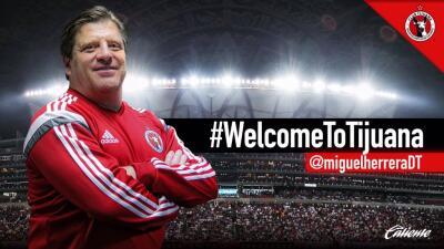 Miguel 'El Piojo' Herrera nuevo entrenador de Xolos de Tijuana