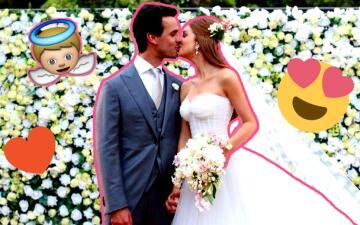 Así fue la mágica boda de Marina Ruy Barbosa, 'Eliza' en 'Totalmente diva'