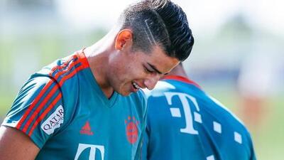 James Rodríguez está listo para volver con el Bayern Munich