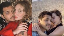 📸 Con apasionados besos, Belinda y Christian Nodal se muestran más enamorados que nunca