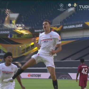 ¡Revive la emoción! Los goles con los que el Sevilla echó a la Roma de la Europa League