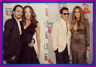 El paso de Jennifer Lopez y Marc Anthony por Latin GRAMMY
