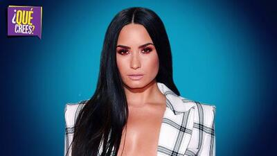 ¿Demi Lovato recayó en las drogas por culpa de malas influencias?