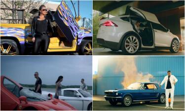 Chiquis Rivera, Banda El Recodo, Daddy Yankee o Wisin y Yandel ¿quién usa los mejores carros en sus videos?