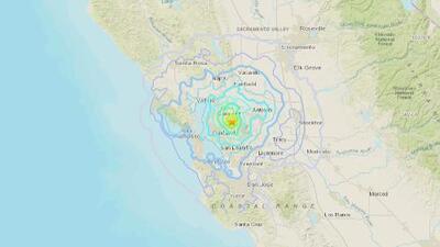 Sismo de magnitud 4.5 con epicentro en Pleasant Hill sacude el Área de la Bahía
