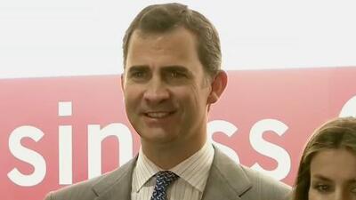 Felipe de Asturias sucederá a su padre el Rey Juan Carlos de España