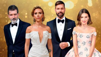 Ricky Martin, Scarlett Johansson y otros famosos que brillaron en la alfombra de los Emmy