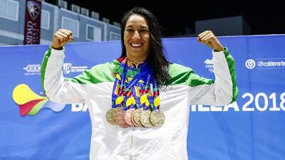 """Liliana Ibáñez, figura en JCC con nueve medallas: """"Para poder ser buen deportista hay que estudiar"""""""