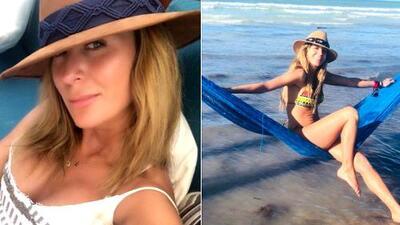 Geraldine Bazán comparte sus secretos para estar bien por dentro y por fuera