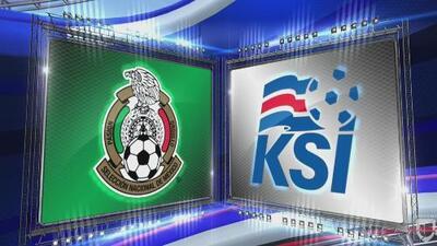 México 3-0 Islandia – RESUMEN Y GOLES – Amistoso fecha FIFA
