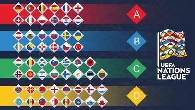 UEFA anunció las ligas de la Nations League