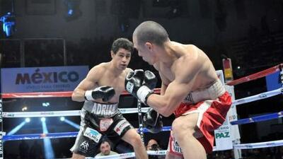 Adrián Estrella noqueó rápido a Edwin López y Mickey Román también gana por KO