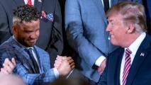 Los Houston Astros visitan casi completos a Donald Trump en la Casa Blanca