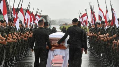 Fotos: el homenaje fúnebre a los jugadores del Chapecoense