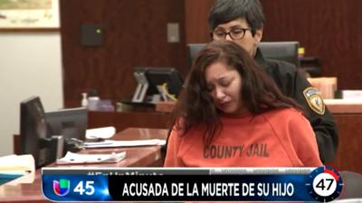 En Un Minuto Houston: Comparece ante un juez una mujer hispana acusada de matar a su hijo durante un accidente vial