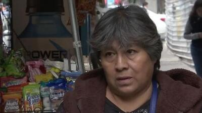 Vendedora que casi muere sepultada en el terremoto de México recuerda cómo salvó su vida