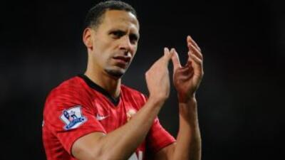 Rio Ferdinand deja la selección de Inglaterra