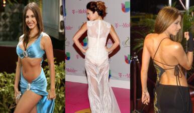 Los vestidos más sexys y atrevidos de las latinas en la alfombra roja