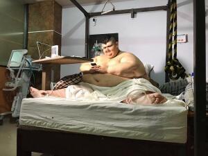 En fotos: La esperanza del hombre más obeso del mundo