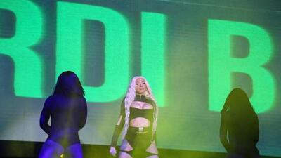 Cardi B expresses her anger towards Barbz before expressing her love for San Antonio