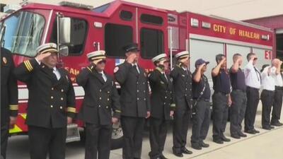 Con una emotiva ceremonia, autoridades del sur de Florida recuerdan a las víctimas del 11 de septiembre