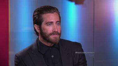 El actor Jake Gyllenhaal en Al Punto con Jorge Ramos