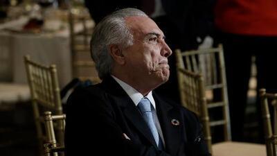 Un magistrado brasileño autoriza una investigación preliminar al presidente Michel Temer