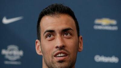 Mala noticia para el Barcelona: Sergio Busquets estará tres semanas de baja