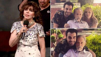 Verónica Castro pide ayuda económica para Rogelio Guerra
