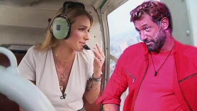 Desde un helicóptero, Irina Baeva habla sobre las 'turbulencias' que ha tenido su relación con Gabriel Soto