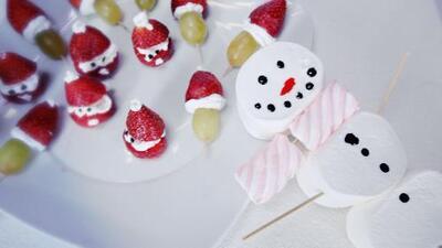 Dulces bocadillos navideños en minutos