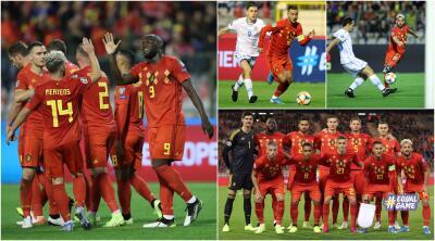 En fotos: Bélgica vapulea 9-0 a San Marino rumbo a la Eurocopa