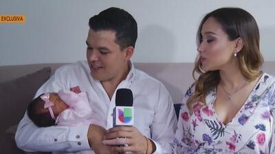 Exclusiva: Leandro Ríos presenta a su pequeña hija Loretta