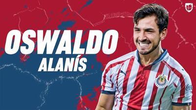 Oficial: Oswaldo Alanís regresa a Chivas