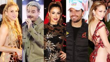 Los 5 famosos que nos darán mucho de qué hablar en el 2018