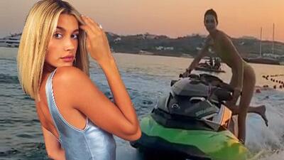Hailey Baldwin (la esposa de Justin) desafió a Kendall Jenner y de una audaz forma le respondió