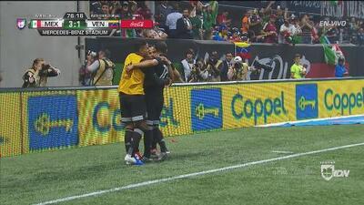 Ganó y gustó, así fueron los tres goles de México ante Venezuela