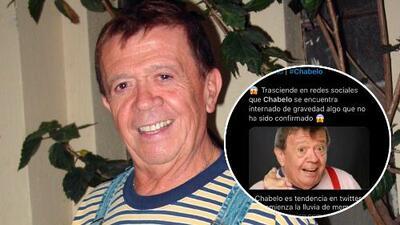Tras la muerte de José José, medios especulan sobre la salud de Chabelo