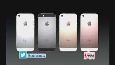 Apple lanza iPhone SE