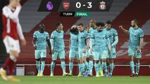 Liverpool golea de visita al Arsenal y pelea los puestos europeos