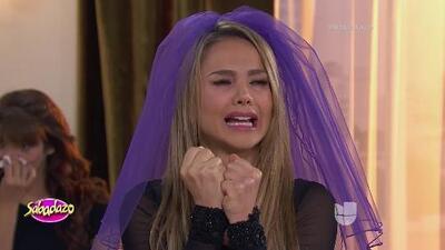 Ximena Córdoba estaba destrozada en el velorio